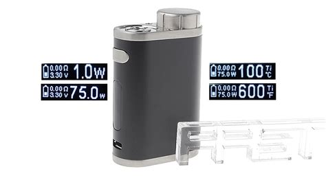 Kp778 Elego Eleaf Istick Pico Eleaf Tc Box Mod Fact Kode Tyr834 1 25 83 authentic eleaf istick pico 75w tc vw apv box mod 1 75w 100 315c 200 600f 1