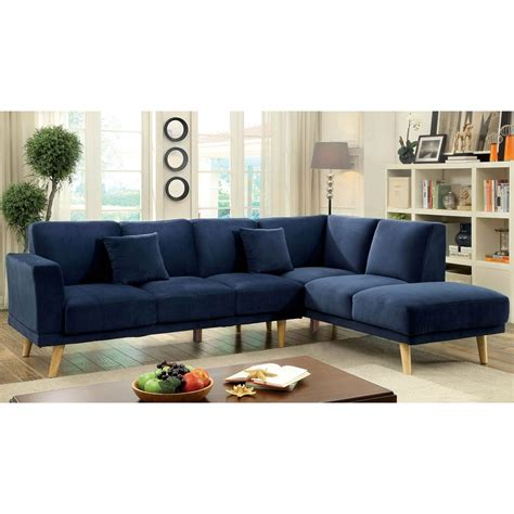 exchange sofa furniture of america hagen sectional sofas couches