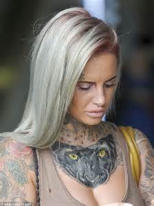 Tattoo Girl Ex On The Beach | jemma lucy unveils panther tattoo as she hits back at