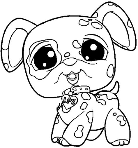 coloring pages of littlest pet shop dogs littlest pet shop coloring pages lps coloring photo
