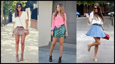 7 Skirts For End Of Summer by How To Wear Mini Skirts For Chic Summer