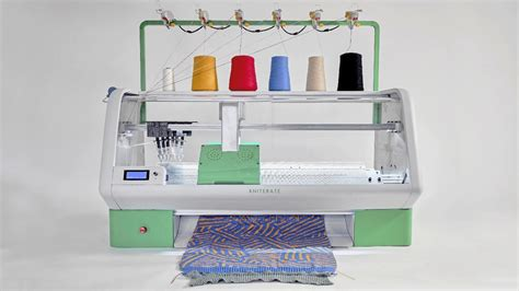 home knitting machine 3d print your clothes at home using kniterate digital