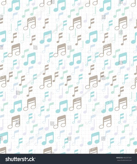 notes pattern background pattern wallpaper musical notes can be stock vector