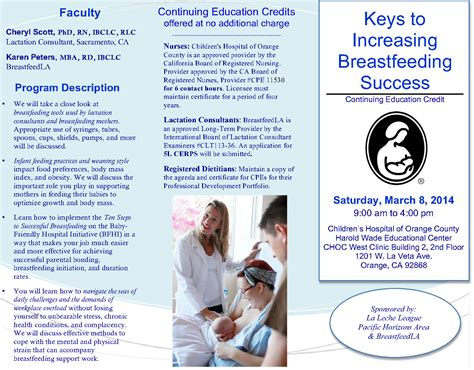 breastfeeding brochure templates 5 best agenda templates