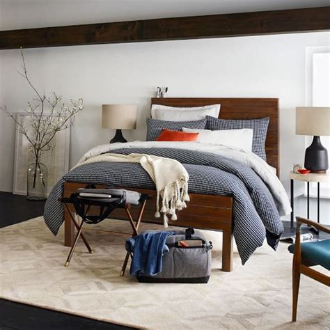 west elm stria bed stria bed honey west elm