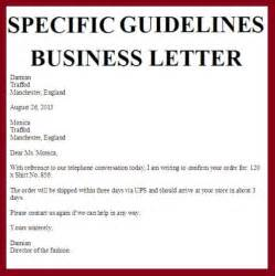 Business Letter Format Current business letters business letter examples