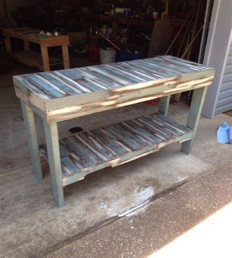 colored benches pallets colored benches and tables pallet ideas