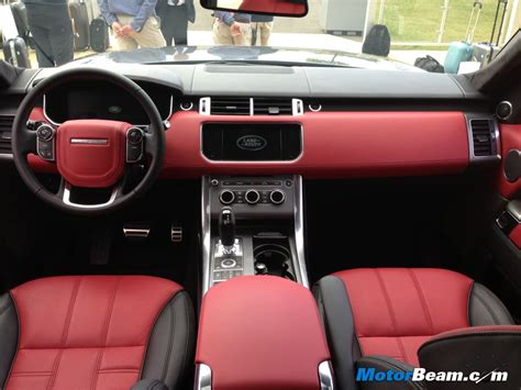 black land rover interior matte black range rover with red interior www indiepedia org