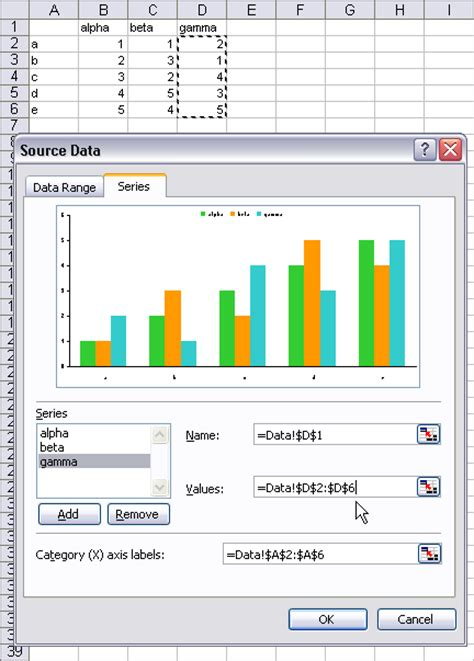 excel 2007 format data series gradient fill excel vba chart data series add multiple data series to