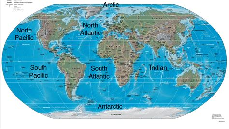 map world oceans world maps best of map with oceans for