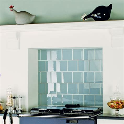 Kitchen Tiles Ideas For Splashbacks | clear glass tiles from original style kitchen