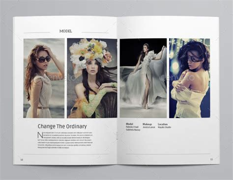 portfolio layout indesign download 40 beautiful indesign fashion brochure templates web