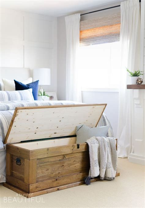 diy end of bed storage bench best 25 storage chest ideas on pinterest pallet toy