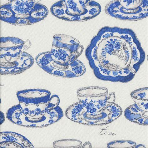 blue and white china l blue and white china floral teacups plates on white tea