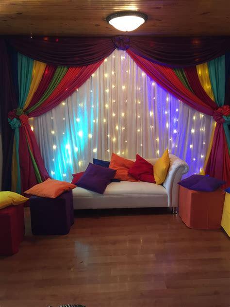 colourful indoor mehndi decor dholki ideas pinte