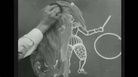 first cartoon film ever made humorous phases of funny faces 1906 first animation in