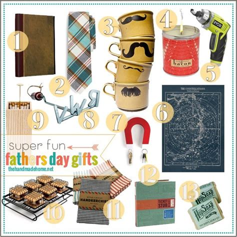 Fathers Day Handmade Gifts - fathers day gift ideas the handmade home