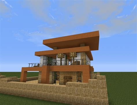small house minecraft small modern house minecraft project