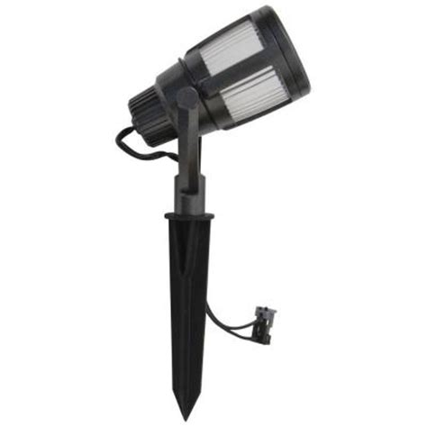 Low Voltage Flood Lights Outdoor Malibu Low Voltage Outdoor Led Gun Metal Gray Contemporary Flood Light 8418 2606 01 The Home Depot