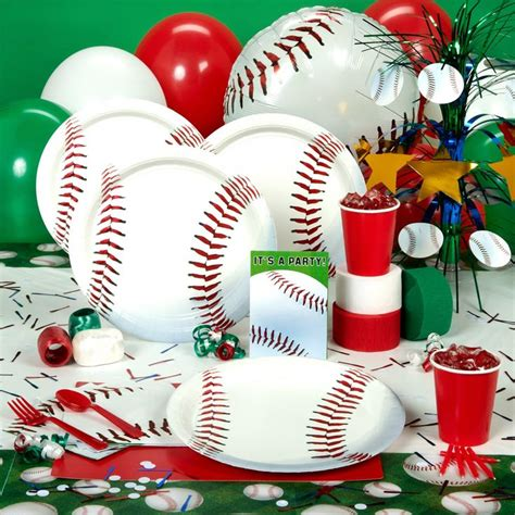 baseball theme decorations baseball birthday boys birthday ideas