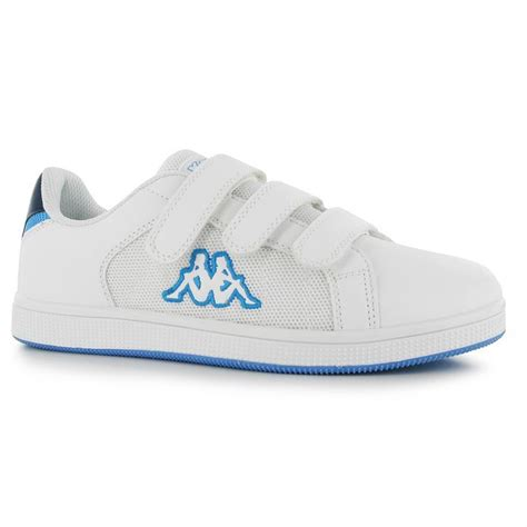 kappa sport shoes kappa mens nulent 4 velcro trainers sports shoes casual