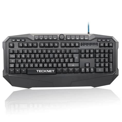 Keyboard Gaming X7 tecknet gryphon led illuminated gaming keyboard