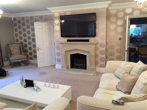 mounting flat screen tv above fireplace interior white sofa design with mounting tv above
