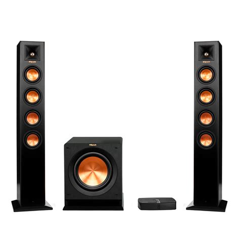 reference premiere hd wireless 2 1 towers system klipsch