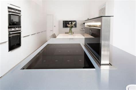kitchen island downdraft extractor contemporary london kitchen island appliances contemporary london by lwk