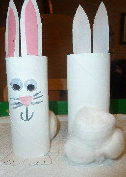 Toilet Paper Roll Bunny Craft - toilet roll bunny craft easter