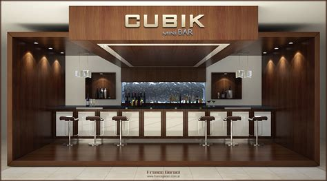 Beautiful Mobile Home Interiors 3d Mini Bar Concept By Feg On Deviantart