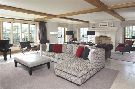 Home Interior Arch Designs by Contemporary English Country Home In Gloucestershire