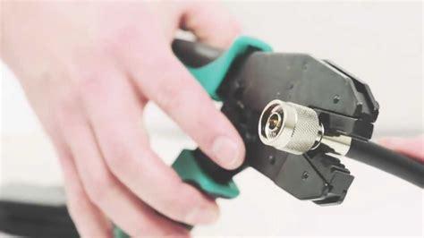 Konektor Rg8 N Crimping 1 how to make a n crimp connector lmr 400