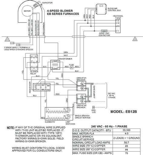 mobile home intertherm furnace wiring diagram parts mobile