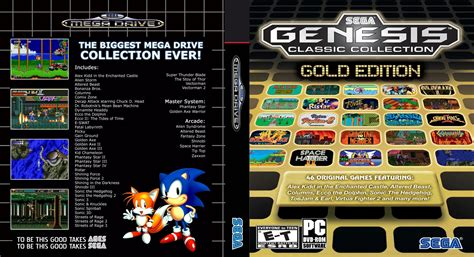 sega genesis classics collection sega mega drive classic collection gold edition