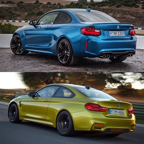 Dimensions Two Car Garage Bmw M2 Vs Bmw M4 Photos And Specs Comparison