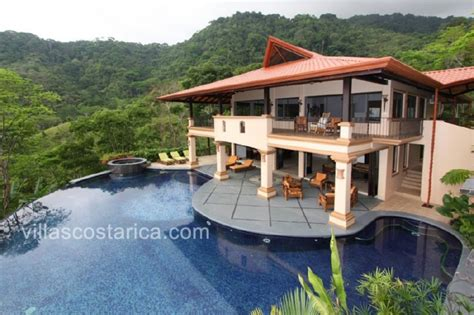 costa rica cottage rentals dominical villa rental luxury rental villa with pool