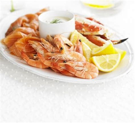 Small Kitchen Ideas On A Budget simple seafood platter recipe bbc good food