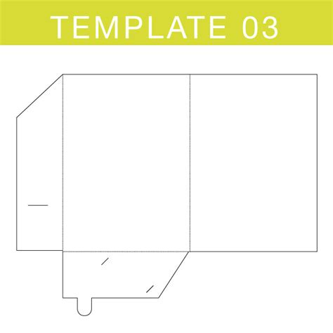 a4 card insert template folder templates