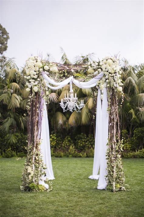 Wedding Arch Ac best 25 wedding arch tulle ideas on simple