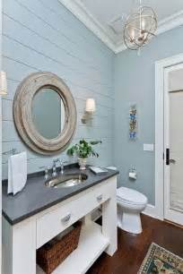 cottage mirrors for bathrooms blue grey paneled wall white mirror bathroom