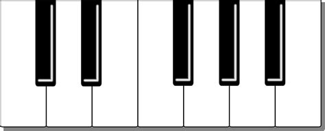 printable keyboard images printable piano keyboard clipart best