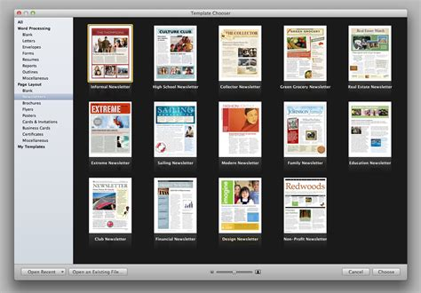 apple pages templates for newsletters member communication made easy well easier publisher