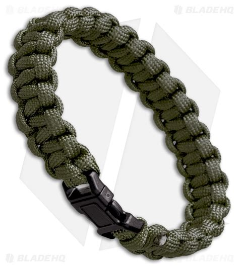 paracord od green s e 7 strand survival paracord bracelet od green blade hq