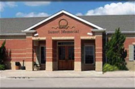 sunset memorial gardens funeral home odessa tx