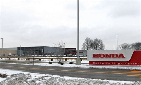 Marysville Ohio Post Office by Honda Makes But Will Stay In California