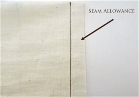 pattern allowances meaning basics seam allowances yesterday s thimble