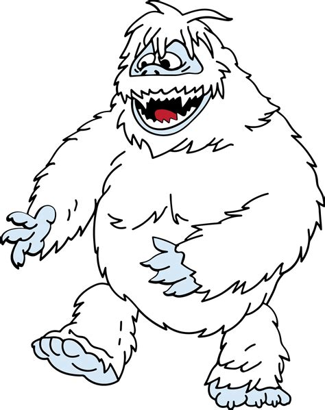 how to draw the rudolph abominable snowman abominable snowman drawing www pixshark images galleries with a bite