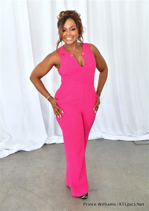 porsha williams jumpsuit splurge phaedra parks s ayden s a snacks trina turk pink