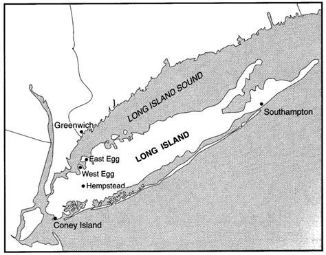 great gatsby long island long island as east west egg elena rose essex great